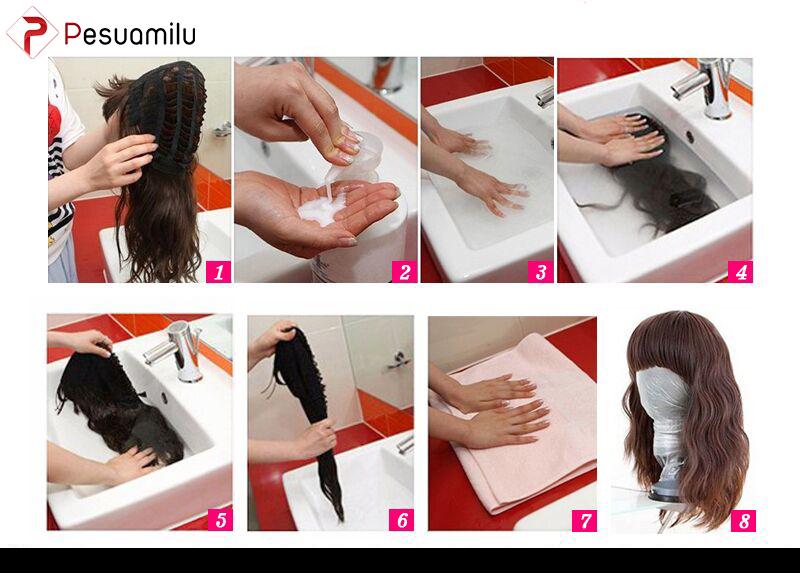 Cách vệ sinh tóc giả