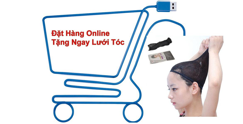 Đặt hàng online tặng ngay lưới tóc