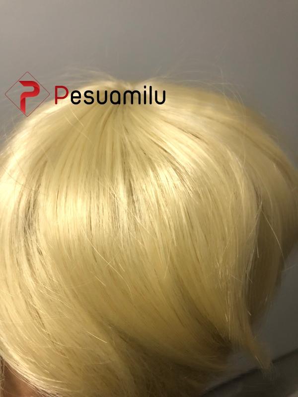 Tóc giả màu vàng cho nam