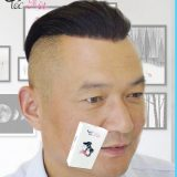 Tóc giả dán undercut từ tóc thật nguyên chất